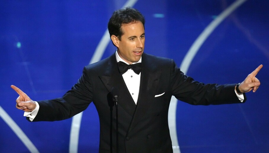 HARDT UT: Skuespiller og komiker Jerry Seinfeld raser mot gründeren James Altucher, som hevder at New York er «fullstendig død» som følge av coronaviruset. Foto: NTB Scanpix