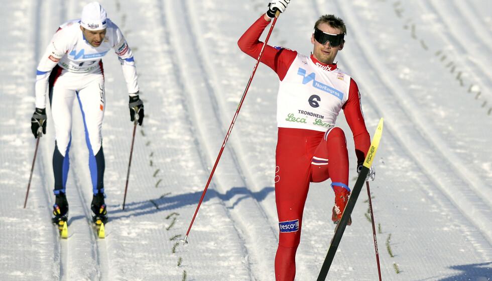 RASKEST PÅ ÆRLIG VIS: Petter Northug var som regel for kjapp for Andrus Veerpalu. Det viste seg å være en enda bedre sportslig prestasjon enn det så ut som dengang. FOTO: Ned Alley/Scanpix.