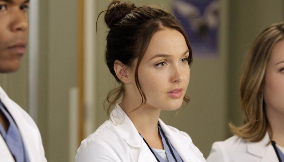 TV-SERIE: Camilla Luddington avbildet på «Grey's Anatomy»-settet. Foto: Abc-Tv/Kobal/REX