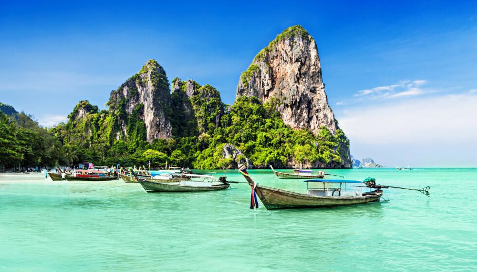 ÅPNER FOR TURISTER: Thailand har nå lagt fram en plan for å tillate internasjonale turister for å hjelpe landets blødende turistindustri. Men det innebærer en svært rolig opphold. Foto: Shutterstock/NTB Scanpix