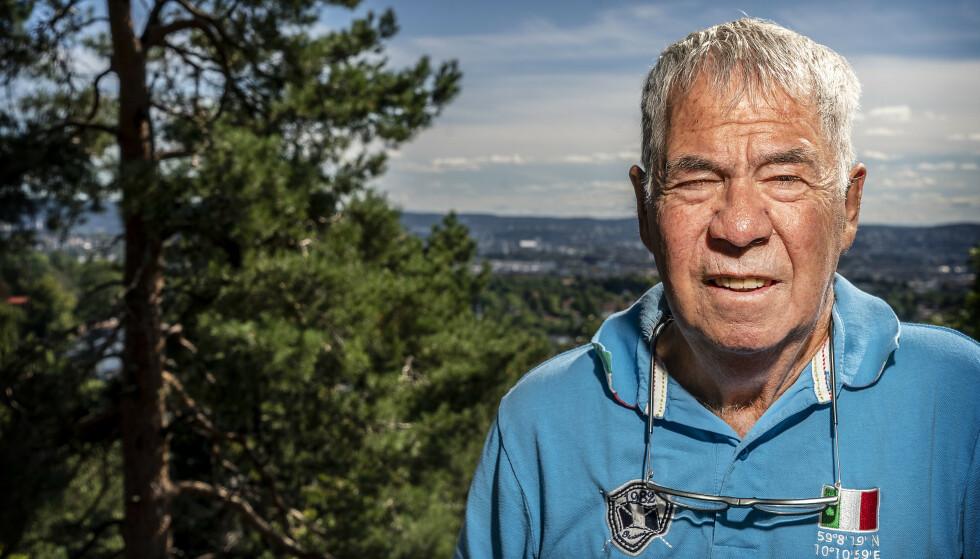 HJERTETRØBBEL: Drillo var i mange år plaget av hjerteflimmer. Spesielt en gang laget det alvorlig trøbbel for ham i fotballtrener-karrieren. Foto: Hans Arne Vedlog