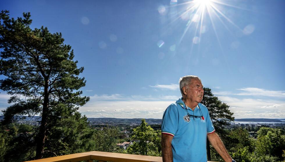 FORTELLER OM SØNN: Drillo forteller om da han fikk vite at ha hadde en sønn i Danmark i den nye boka. Foto: Hans Arne Vedlog