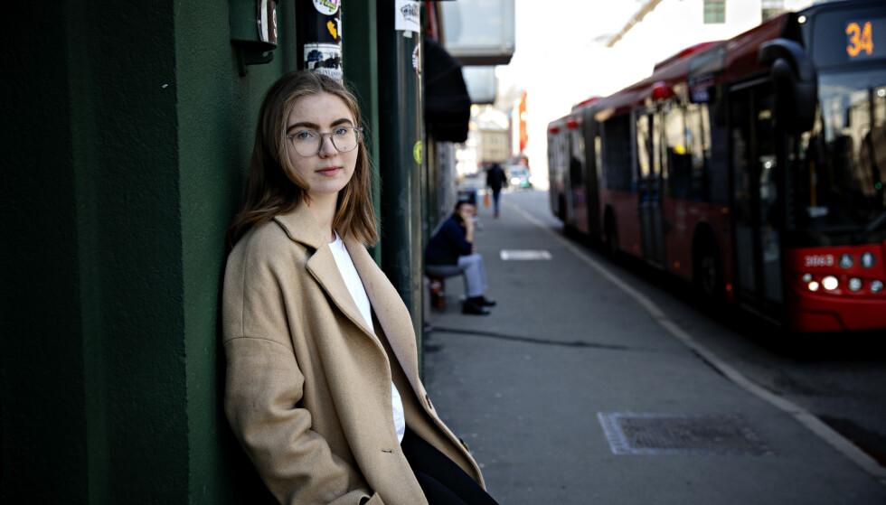 TA DEBATTEN: Debattene om olje og klima bør absolutt tas i norske klasserom, men på trygg avstand fra lobbyistene, skriver Hulda Holtvedt i Grønn Ungdom. Foto: Nina Hansen / Dagbladet