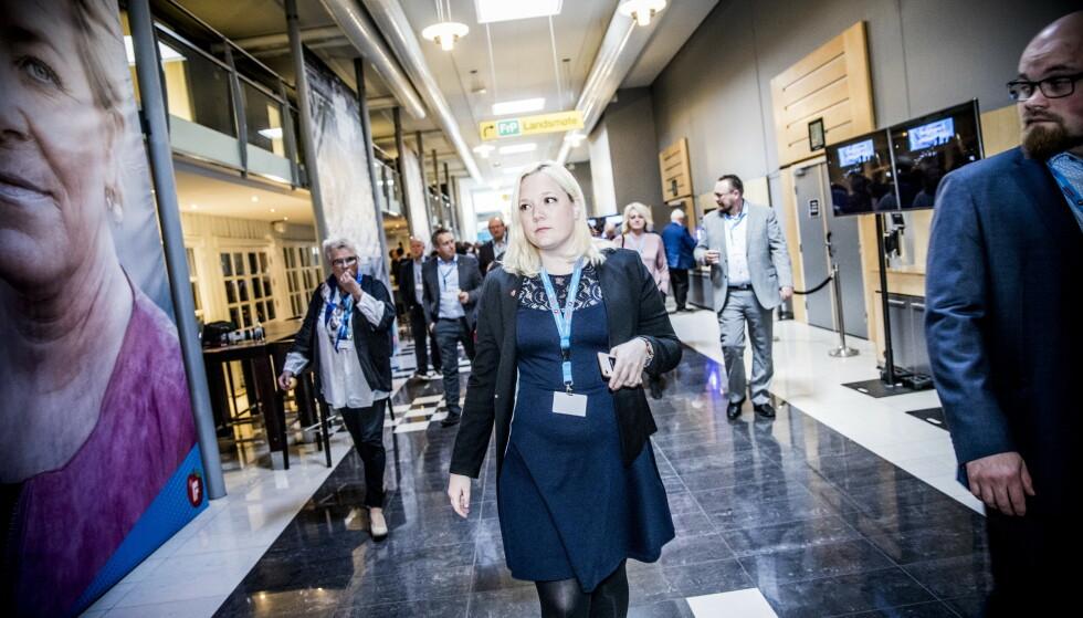VIL HA FULL GJENNOMGANG: Frp-topp Aina Stenersen er svært bekymret over ledelsen av Oslo-skolen etter Dagbladets avsløringer. Foto: Christian Roth Christensen / Dagbladet
