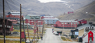 Svalbard er i ferd med å knele
