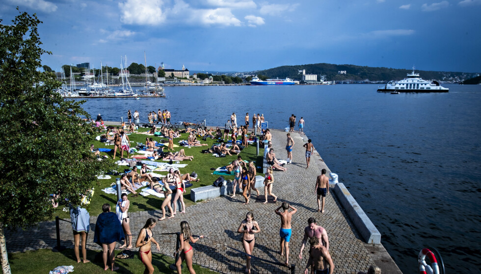 BEKYMRET: Slike bilder gjorde eksperter og politikere bekymret. Foto: Bjørn Langsem / Dagbladet