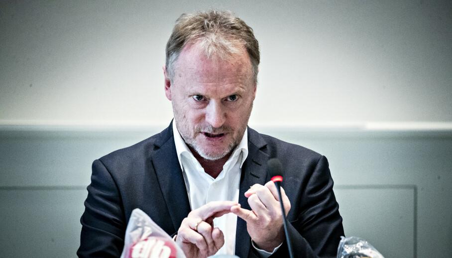 RASER: Byrådsleder Raymond Johansen er ikke videre imponert over grottefest. Foto: Bjørn Langsem / Dagbladet