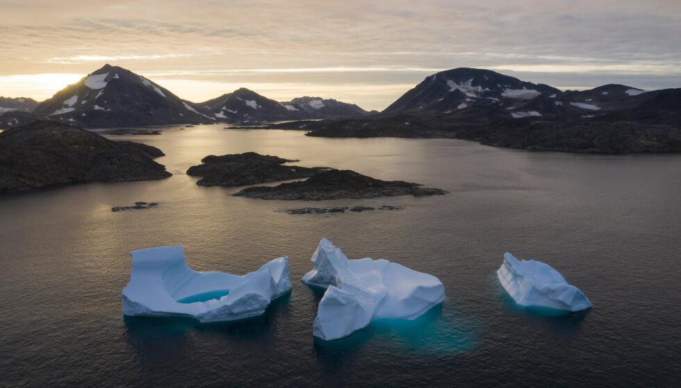 VAR IKKE TIL SALGS: Trump fikk ikke kjøpe Grønland og avlyste statsbesøket til Danmark. Foto: AP / Felipe Dana / NTB