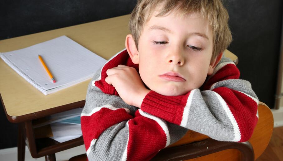 HØYERE RISIKO: Gutter født seint på året har mer enn 40 prosent høyere risiko for å få en ADHD-diagnose enn de født tidlig på året. Barna sammenliknes med eldre barn – og resultatet kan bli en diagnose, skriver innsenderen. Foto: Shutterstock / NTB Scanpix