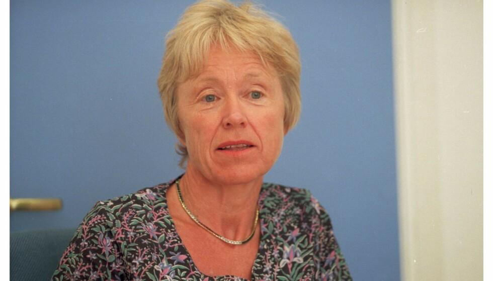 MENNESKERETTSJURIST: Gro Hillestad Thune var medlem av Den europeiske menneskerettskommisjonen i Strasbourg mellom 1982 og 1999. Bildet er tatt i januar 1998. Foto: Aftenposten/NTB Scanpix