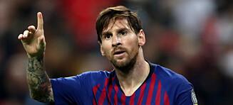 Messi blir i Barcelona: - Det var brutalt