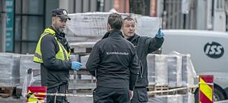 Stor politijakt: Gutt (17) siktet for knivstikking i Trondheim