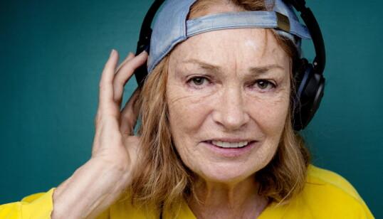 <strong>«DJ GRANDMA»:</strong> Kari Onstad hadde mange jern i ilden, en av hobbyene var å være dj. Foto: Agnete Brun