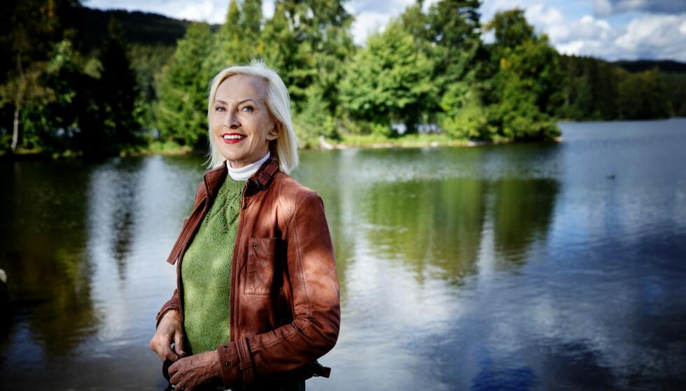 Oslo, 20200903. Sognsvann. Karen-Marie Ellefsen slutter i NRK. Foto: Nina Hansen / DAGBLADET