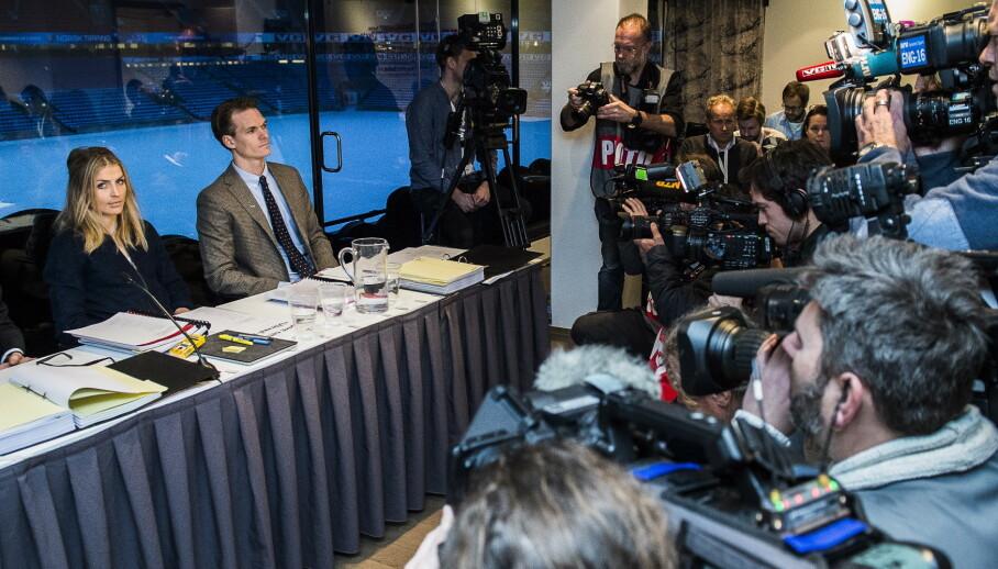 IKKE I SAMSVAR MED WADA: Den åpne rettssaken mot Therese Johaug var avgjørende for å stoppe ryktene om henne her hjemme, mente Dagbladets kommentator. - Nå vil Idrettsforbundet endre reglene slik at dørene i utgangspunktet blir stengt, men er det i samsvar med WADA, spør innsenderen. Foto: Lars Eivind Bones