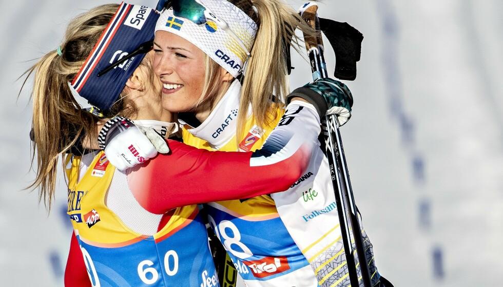SNAKKER UT OM MARERITTET: Frida Karlsson svevde på en sky da hun utfordret Therese Johaug i VM i Seefeld. Så kom motgangen. Foto: Bjørn Langsem / Dagbladet
