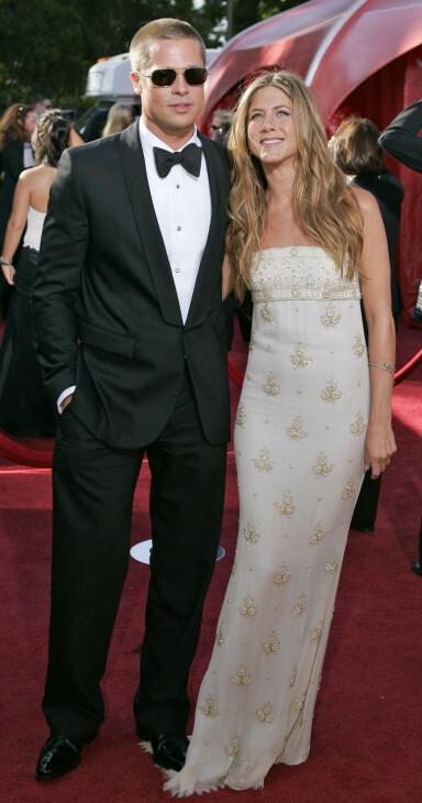<strong>SISTE GANG:</strong> Emmy Awards i september 2004 ble siste gang ekteparet poserte sammen på den røde løperen. Foto: NTB