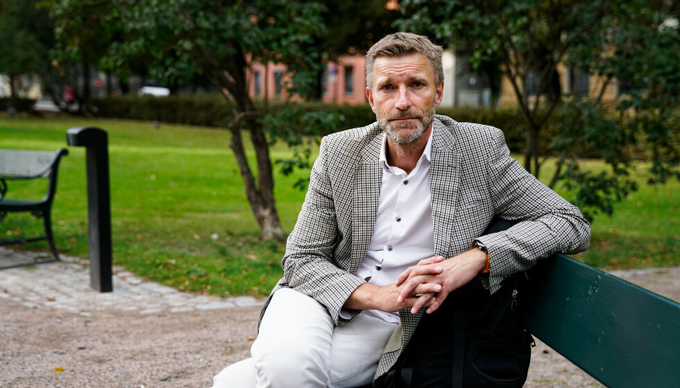 HELE VERDENS POLITIMANN: Asbjørn Rachlew har utviklet det norske politiets avhørsmetode og jobber nå med FN for å skape en standard for politiavhør i hele verden. Foto: Øistein Norum Monsen/Dagbladet