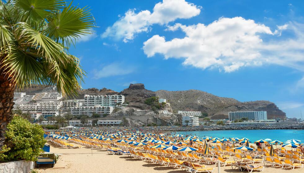 FERIEFAVORITT: Hotellgiganten Lopesan mener de vil være hardt rammet som følge av pandemien i mange år framover. Her nordmenns feriefavoritt Gran Canaria. Foto: Shutterstock/NTB.