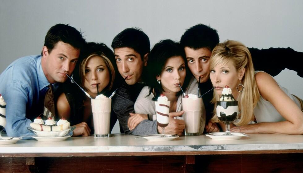 SPESIELL EPISODE: En av skaperne bak «Friends» deler en hemmelighet med fansen. Foto: Warner Bros/ Discovery Networks Norway
