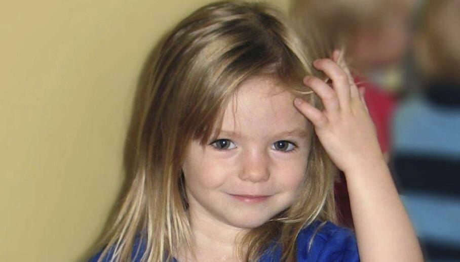 <strong>SPORLØST BORTE:</strong> Madeleine McCann forsvant sporløst fra Portugal i 2007. Tysk påtalemyndighet mener nå å ha bevis for at hun er død. Foto: AP / NTB