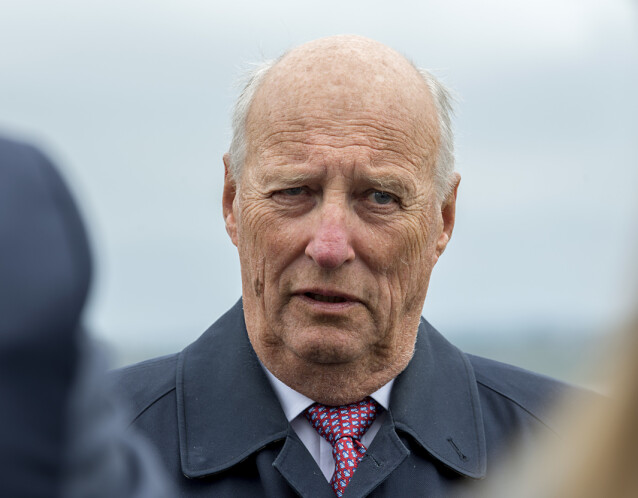 <strong>INNLAGT:</strong> Kong Harald er innlagt på Rikshospitalet. Det er foreløpig ikke kjent hva som skyldes innleggelsen. Foto: Marit Hommedal / NTB