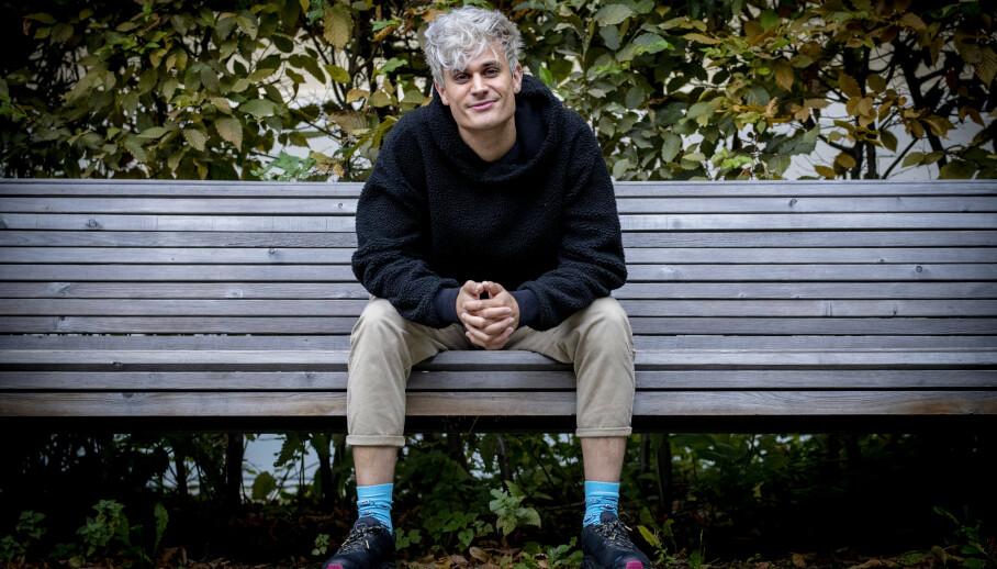 NY BOK: Youtuber og programleder Victor Sotberg vil hjelpe ungdom finne seg selv med sin nye bok. Foto: Bjørn Langsem / Dagbladet