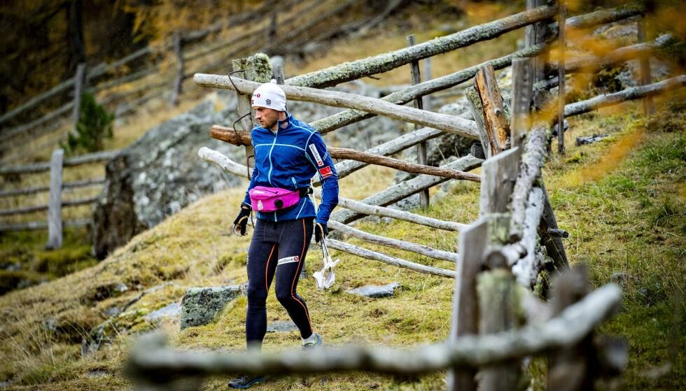 <strong>TRENER BRA:</strong> Petter Northug får ros fra sine tidligere lagkamerater for treningsinnsatsen og nivået han viser for tiden. Foto: Bjørn Langsem / Dagbladet
