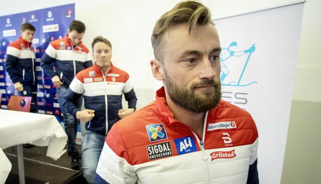 <strong>IMPONERT:</strong> Emil Iversen er imponert over Petter Northugs fart på trening den siste tida. Foto: Bjørn Langsem / Dagbladet
