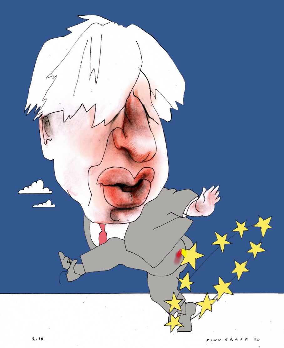 Boris prøver irsk omkamp
