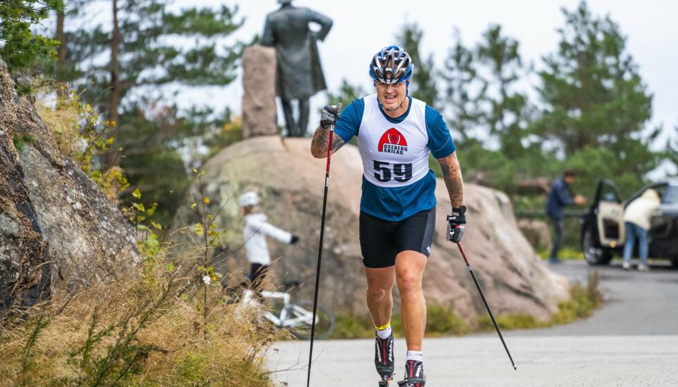 <strong>SVÆRT MOTIVERT:</strong> John Arne Riise. Foto: Håkon Mosvold Larsen / NTB