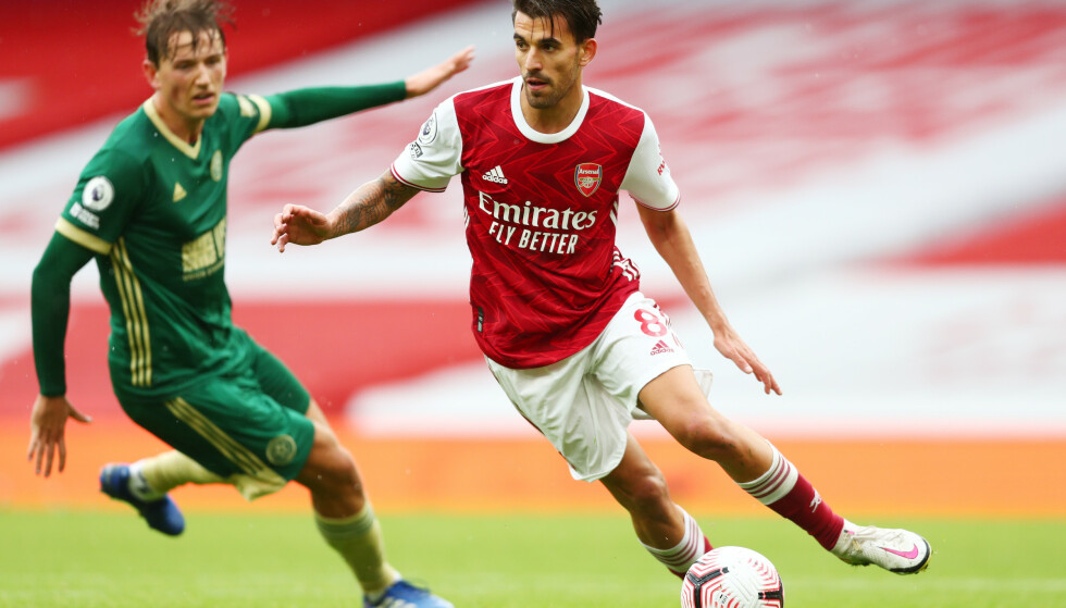 <strong>NYTT TAP:</strong> Sander Berge og Sheffield United røk på et nytt tungt tap. Denne gangen mot Arsenal. Foto: REUTERS/Clive Rose