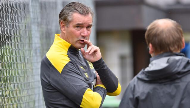 <strong>BEKYMRET:</strong> Sportsdirektør Michael Zorc. Foto: NTB