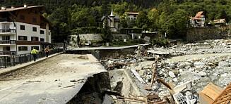 Apokalyptisk: Døde skylte opp