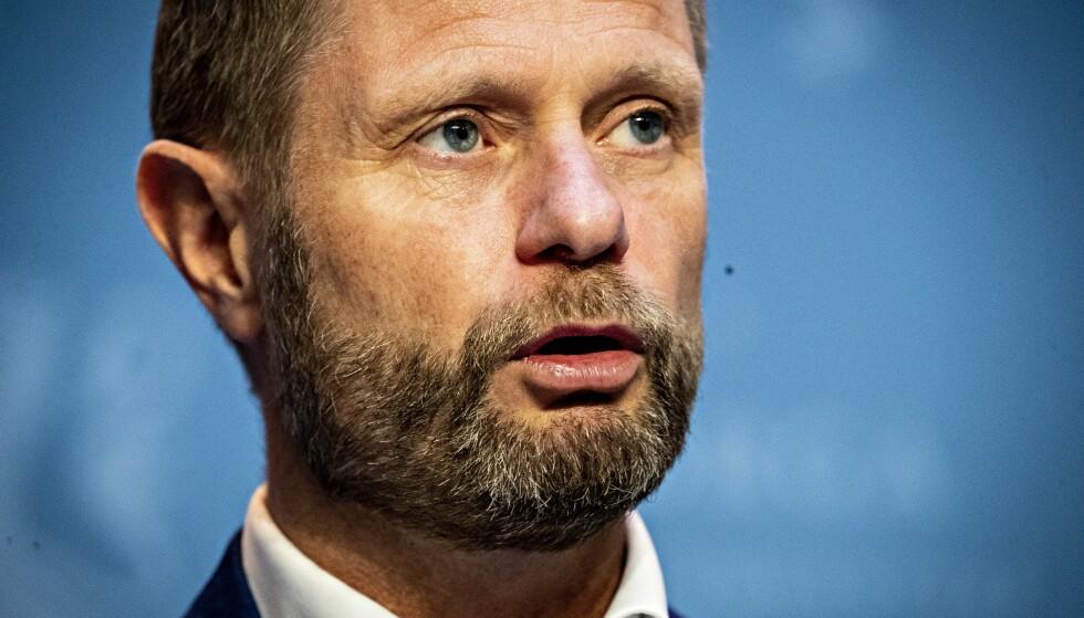 SLÅR TILBAKE: Bent Høie. Foto: Bjørn Langsem / Dagbladet