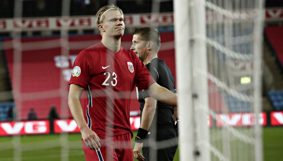 REALISTISK: Landslagssjef Lars Lagerbäck mener det er realistisk at Norge snart kvalifiserer seg til et mesterskap. Her får du oversikt over den lange veien til VM i Qatar 2022. Foto: Bjørn Langsem / Dagbladet