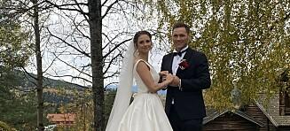 Håndballstjerna giftet seg