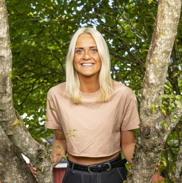 GLADJENTE: Mange husker Wiktoria Rønning med bredt smil om munnen. Foto: Tor Lindseth / Se og Hør