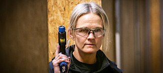 Ellen har Norges farligste jobb