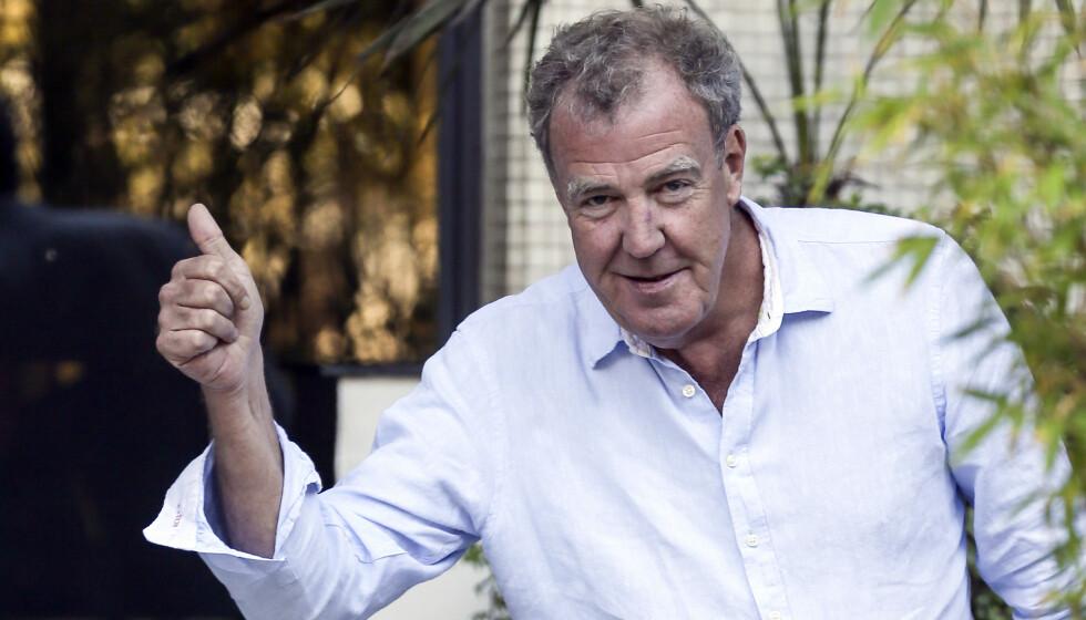 <strong>TOMMEL OPP FOR BALLELUKT:</strong> Jeremy Clarkson synes testikler lukter fantastisk, og tilbyr derfor duften inn i hjemmene til folk. Foto: NTB