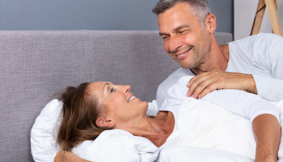 VOKSEN SEX: Rådene som gir et godt sexliv gjennom hele livet. Foto: NTB
