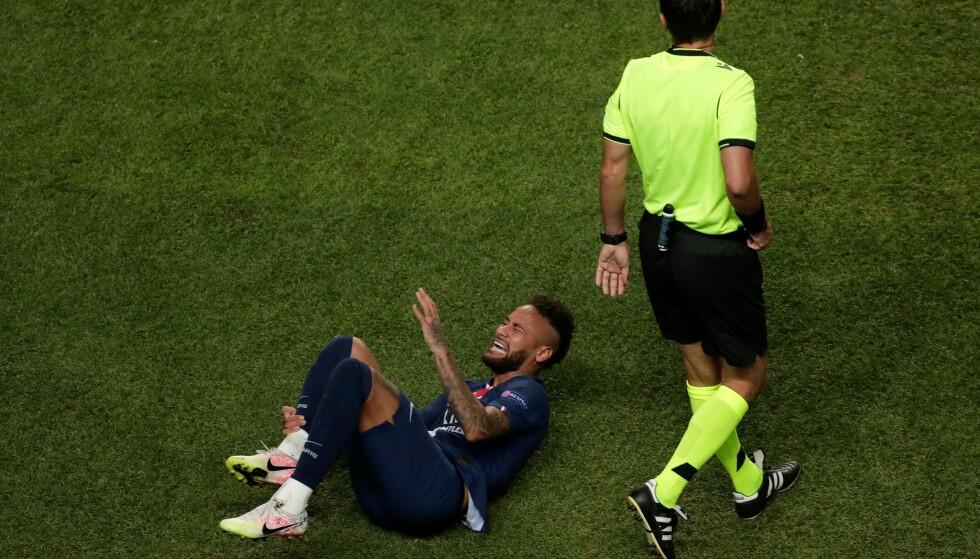 OFFER FOR KRITIKK: Neymar. Foto: Manu Fernandez / POOL / AFP