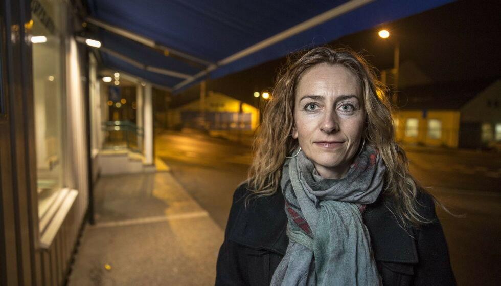 REAGERER: Leder av Oslo politiforening, Kristin Aga, reagerer på Bjørnlands sin ordbruk. Foto: Lars Eivind Bones / Dagbladet