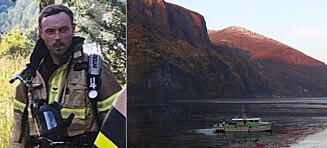 Tror Christoffer (29) har falt i fjorden