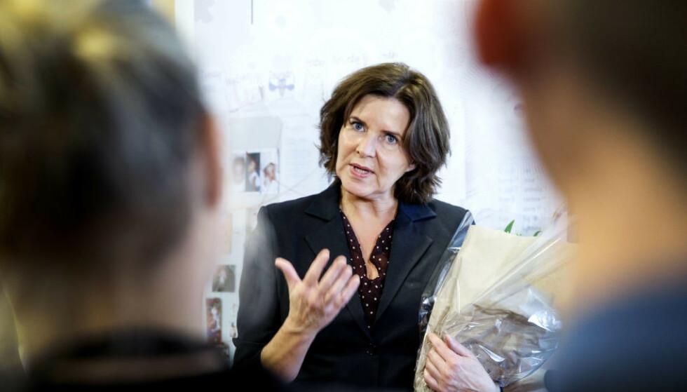 <strong>BEKYMRET:</strong> Likestillings- og diskrimineringsombud Hanne Bjurstrøm mener funnene i forskningsprosjektet er alvorlige. Foto: Gorm Kallestad / NTB Scanpix.