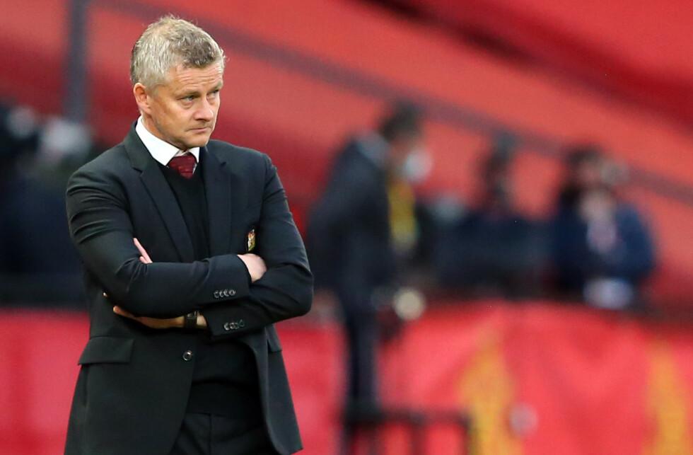 <strong>MYE Å TENKE PÅ:</strong> Ole Gunnar Solskjær og Manchester United må slå tilbake på gressmatta. Foto: Alex Livesey / AFP / NTB