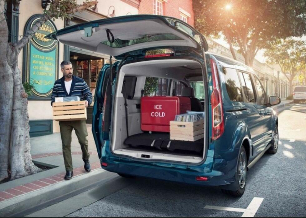 «Bra valg»: Eksperter har sjekket ut sikkerheten til de populære varebilene under 3,5 tonn. Foto: Ford