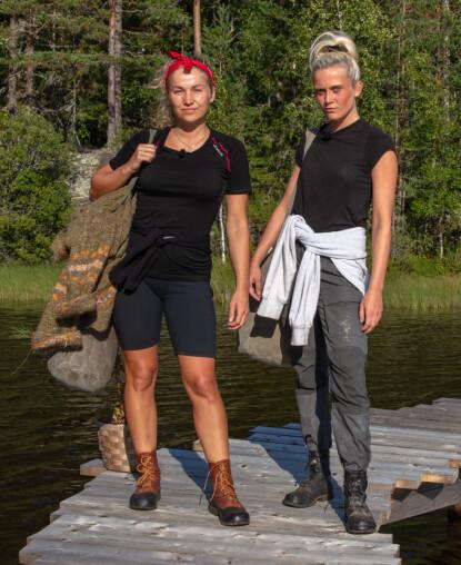 <strong>DUELLANTER:</strong> Karianne Vilde valgte å møte Wiktoria i tautrekking. Foto: Alex Iversen / TV 2