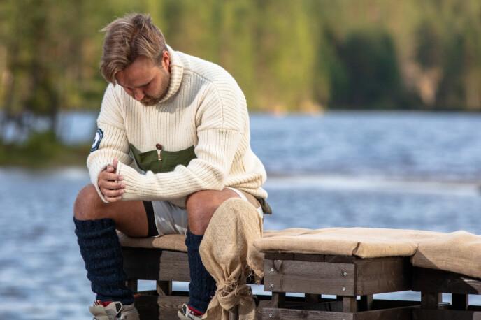 <strong>VONDT:</strong> Det var vanskelig for Kjetil å se Wiktoria måtte forlate gården. Han forteller at han sleit med motivasjonen i etterkant. Foto: Alex Iversen / TV 2