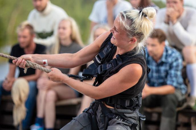 <strong>GA ALT:</strong> Wiktoria forteller om blemmer og blødende hender etter konkurransen. Foto: Alex Iversen / TV 2